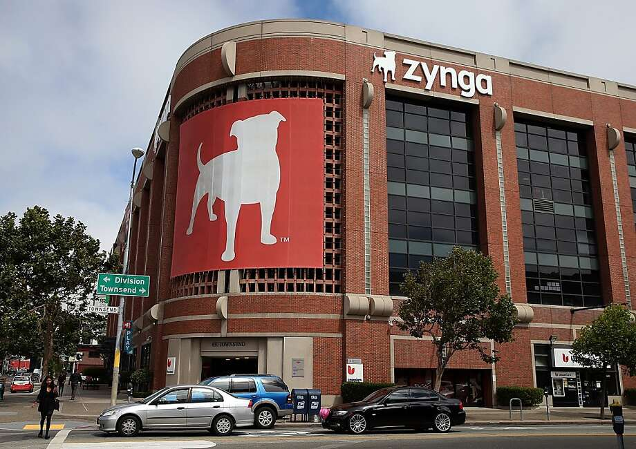 SAN FRANCISCO, CA - JULY 25:  Cars drive by the Zynga headquarters on July 25, 2013 in San Francisco, California. Online game maker Zynga will report second quarter earnings after the market close.  (Photo by Justin Sullivan/Getty Images) Photo: Justin Sullivan, Getty Images