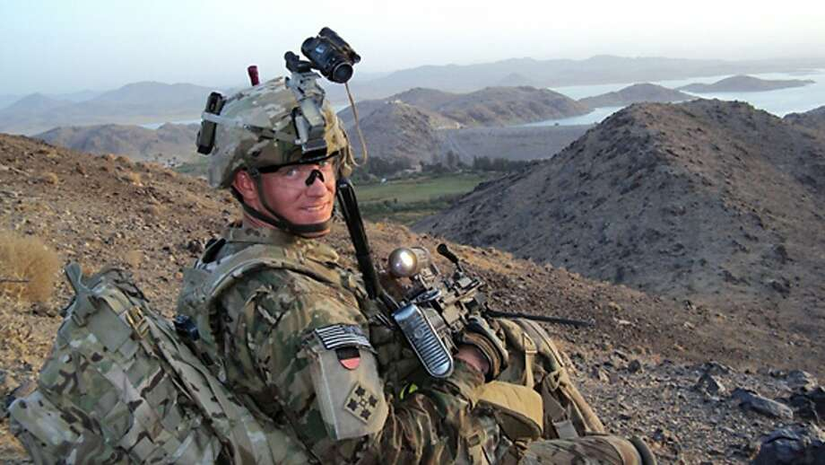 Staff Sgt. Ty Carter will receive the nation's highest military honor from President Obama next month. Photo: Uncredited, Associated Press