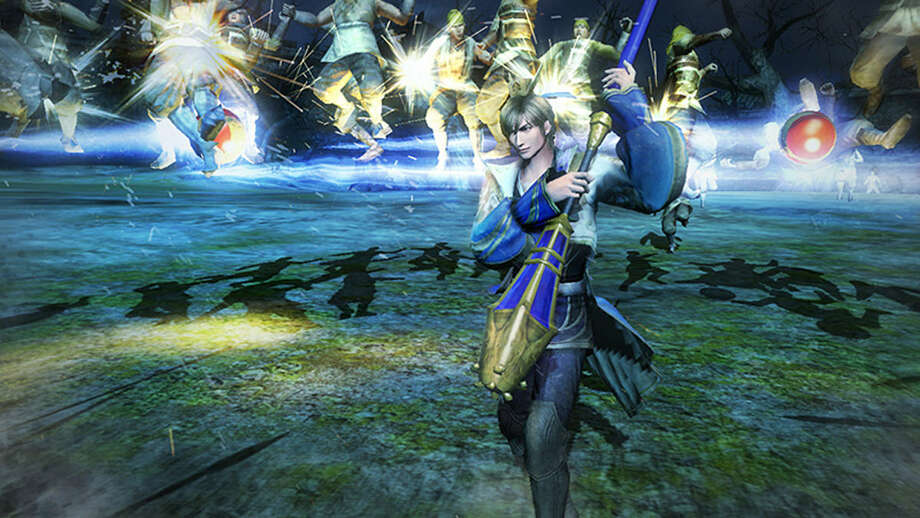 "With its glam rock look and cheesy rock sound, ""Dynasty Warriors 8"" incorporates fast combat with awkward dialogue and a host of playable characters in a third-century romp for the ages. Photo: Photos Courtesy Tecmo Koei"