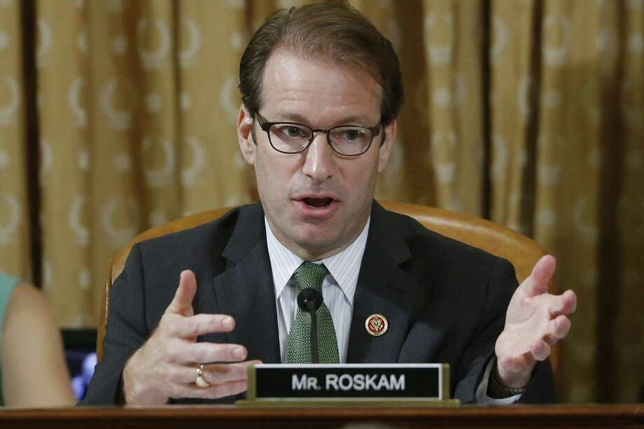 Rep. Peter Roskam, R-Ill., is accused of taking his wife on a 2011 trip financed by Taiwan.