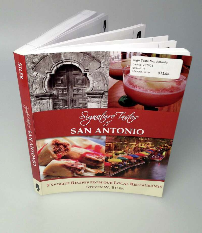 """Including """"Signature Tastes of San Antonio,"""" Steven Siler has published 36 books in the series. Photo: William Luther / San Antonio Express-News"""