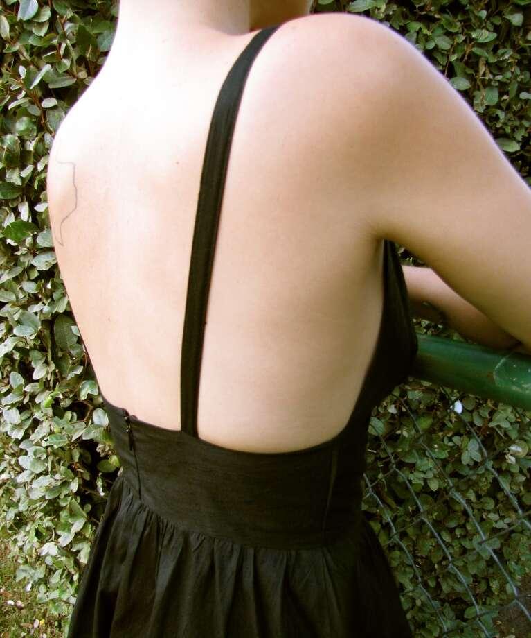Raw silk dress, Katsumi & Malcolm, Treasure House, Beaumont, $35 Photo: Cat5