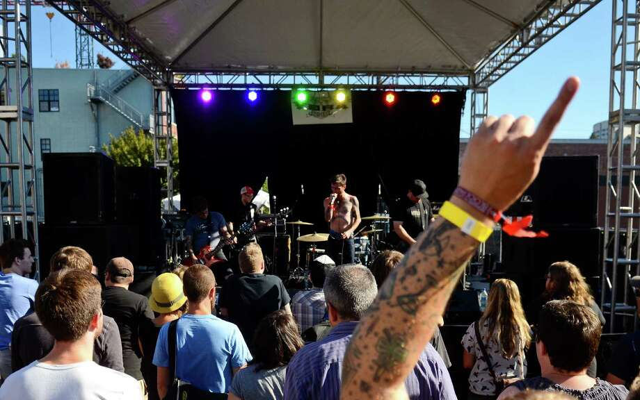 Deadkill performs at the Vera Project stage at the Capitol Hill Block Party Friday, July 26, 2013, in Seattle. Photo: SY BEAN, SEATTLEPI.COM / SEATTLEPI.COM
