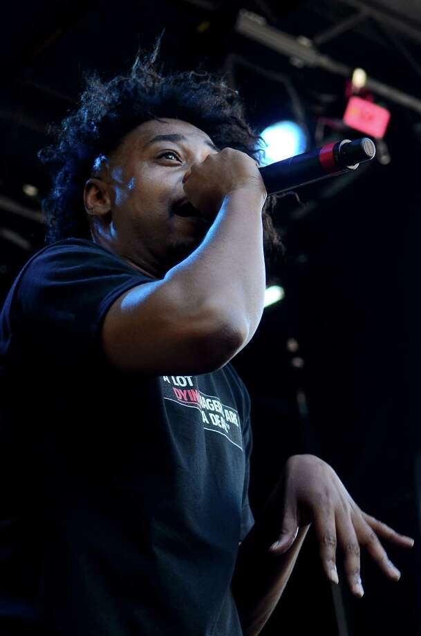 Danny Brown performs at the main stage at the 2013 Capitol Hill Block Party Friday, July 26, 2013, in Seattle. Photo: SY BEAN, SEATTLEPI.COM / SEATTLEPI.COM