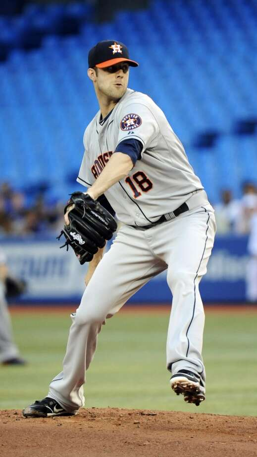 July 26: Blue Jays 12, Astros 6 Jordan Lyles left the game in line for a win, but the bullpen failed again leaving the Astros searching for their second win since the All-Star break.  Record: 34-68. Photo: Jon Blacker, Associated Press