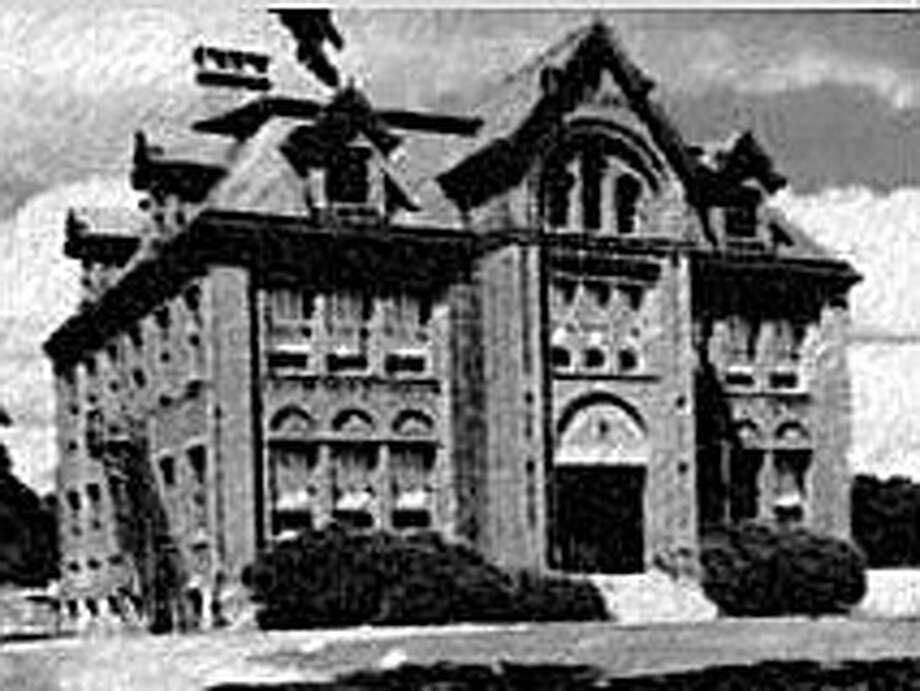 The original Horace Staples High School on Riverside Avenue, dating to 1884. Photo: Contributed Photo / Westport News contributed