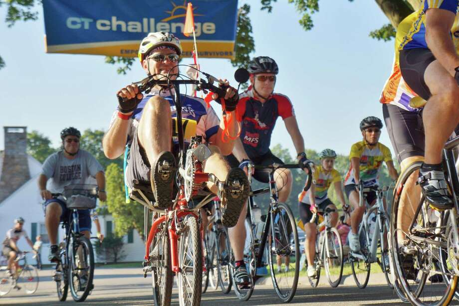 Were you SEEN at Westport's Hunt Club Saturday morning for the CT Bike Challenge to raise money for cancer? 7/27/2013 Photo: Todd Tracy/ Hearst Connecticut Media Group