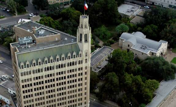 Since 1984, the gothic style of '20s-era hospital has welcomed guests as the Emily Morgan Hotel. Read More Photo: William Luther, San Antonio Express-News / © 2012 San Antonio Express-News