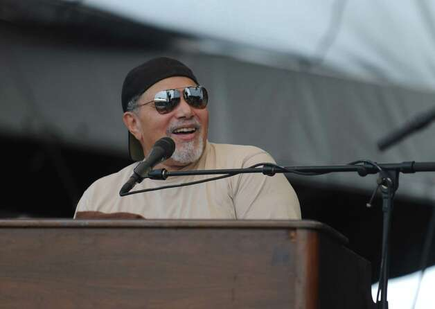 Art Neville performs with Funky Meters during the 18th annual Gathering of the Vibes Musical Festival at Seaside Park in Bridgeport, Conn. Saturday, July 27, 2013. Photo: Autumn Driscoll / Connecticut Post freelance