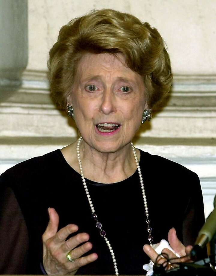 Lindy Boggs was ambassador to the Vatican during the Clinton administration. Photo: Massimo Sambucetti, Associated Press