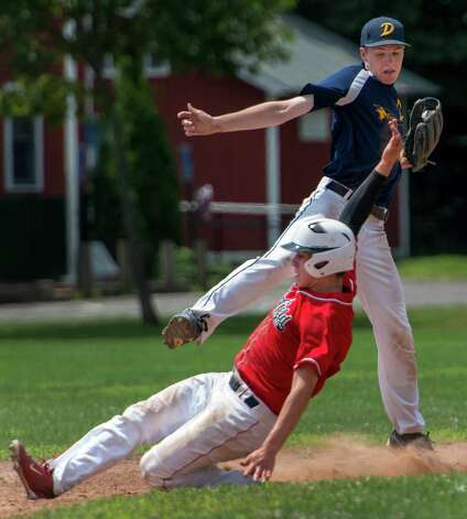 Danbury north junior legion falls to fairfield in state for Ct fish and game