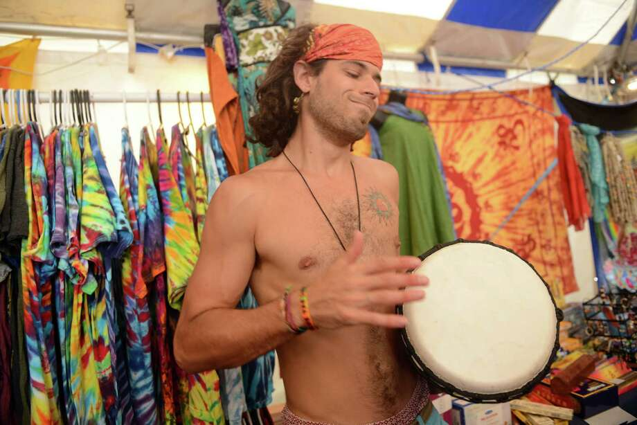 Day 3 of the 18th annual Gathering of the Vibes Musical Festival at Seaside Park in Bridgeport, Conn. Saturday, July 27, 2013. Photo: Autumn Driscoll / Connecticut Post freelance