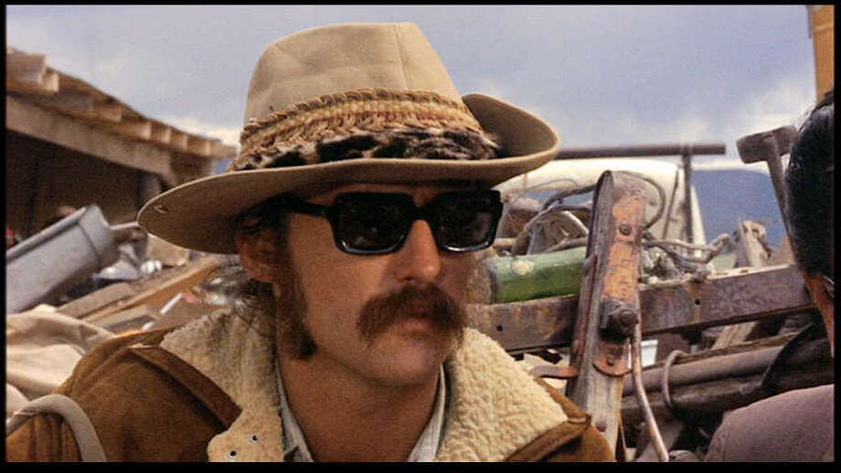 Easy Rider: Not exactly a happy ending for the characters played by Dennis Hopper (pictured), Jack Nicholson and Peter Fonda, but it's all about the journey, not the destination, right? Despite its tragic finale,  the late hippie-era  flick (cowritten by Hopper and Fonda, and directed by the former) didn't seem to hurt motorcycle  sales. Photo: Columbia Pictures, 1969