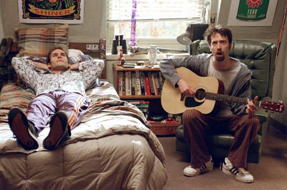 Road Trip: Besides its definitive name, the comedy stars Seann William Scott (right) and Tom Green, among others in a script that takes  four college dudes from Ithaca, N.Y., to Austin, Tex. Photo: DreamWorks, 2000