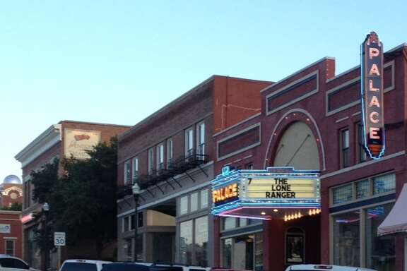 Canadian's restored theater features first-run movies. The town is unlike others in the Panhandle, partly because it isn't flat, but also because some of its wealthy families have given back to the community.