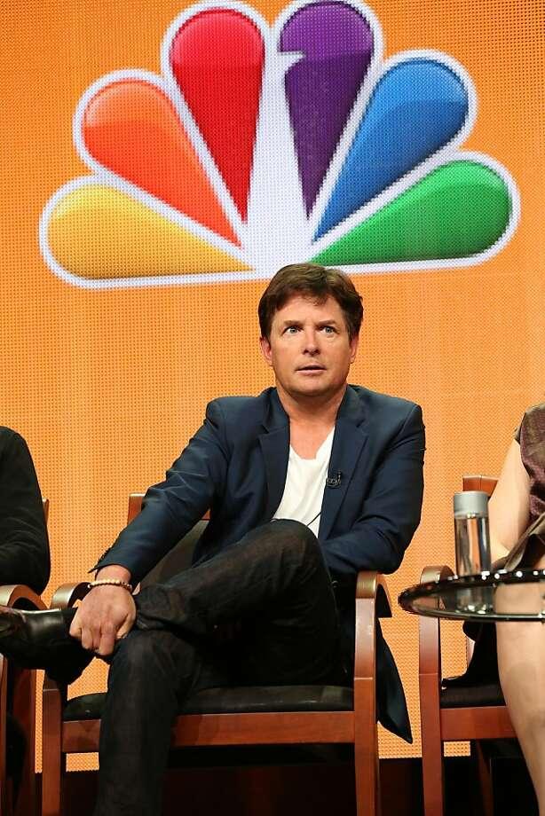 "Michael J. Fox plays a TV news anchor with Parkinson's in ""The Michael J. Fox Show."" Photo: Chris Haston, Associated Press"