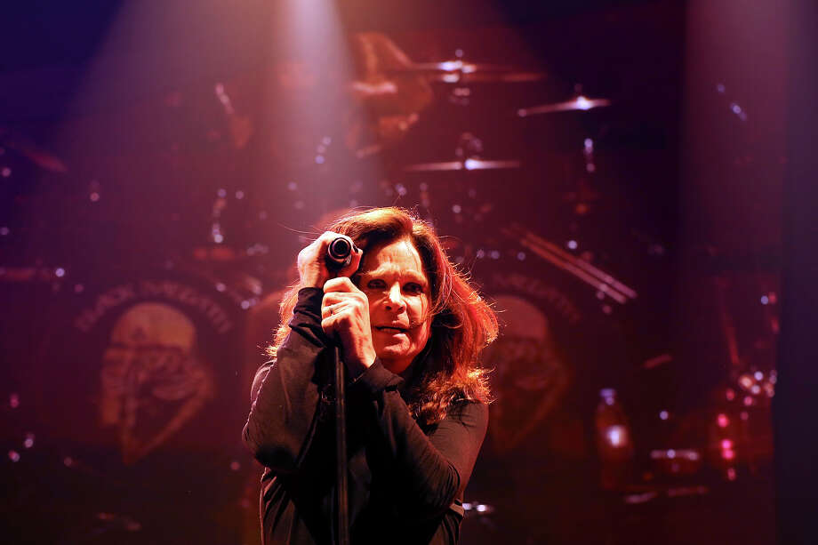 Black Sabbath's Ozzy Osbourne performs with the band Saturday, July 27, 2013, at the Frank Erwin Center in Austin. Photo: Edward A. Ornelas, San Antonio Express-News / © 2013 San Antonio Express-News