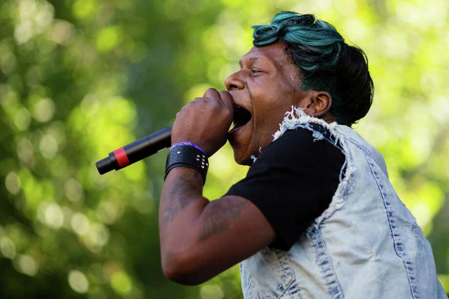 Big Freedia performs on the second day of Capitol Hill Block Party Saturday, July 27, 2013, in the Capitol Hill neighborhood of Seattle. The festival continues Sunday. Photo: JORDAN STEAD, SEATTLEPI.COM / SEATTLEPI.COM