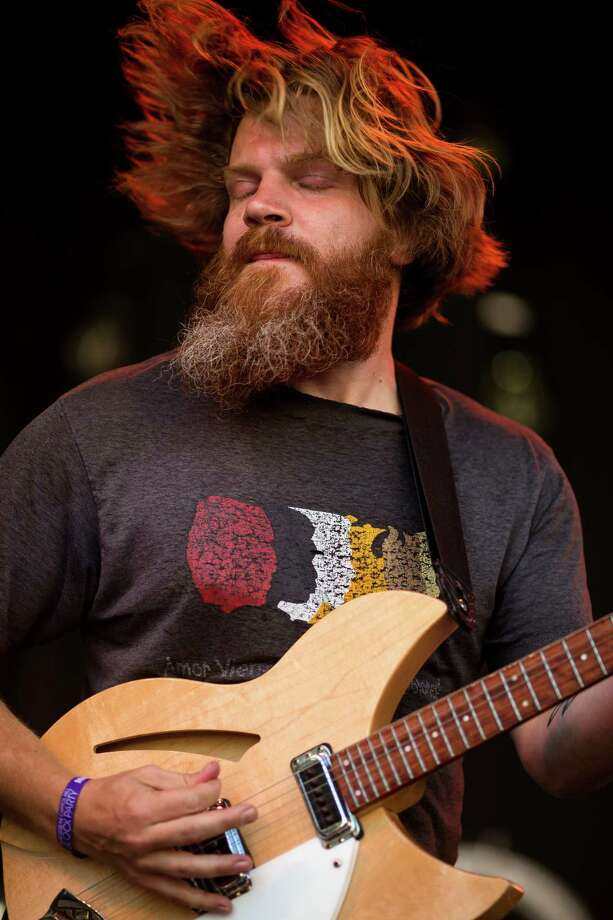 Nils Petersen, guitarist for Rose Windows, performs on the second day of Capitol Hill Block Party Saturday, July 27, 2013, in the Capitol Hill neighborhood of Seattle. The festival continues Sunday. Photo: JORDAN STEAD, SEATTLEPI.COM / SEATTLEPI.COM