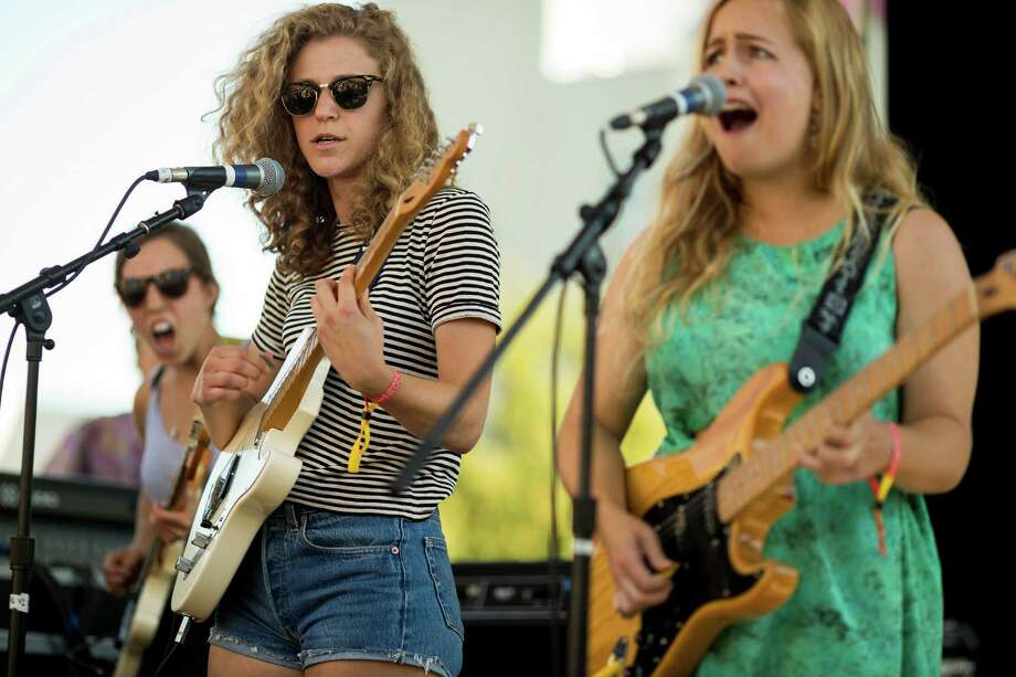 Chastity Belt performs on the second day of Capitol Hill Block Party Saturday, July 27, 2013, in the Capitol Hill neighborhood of Seattle. The festival continues Sunday. Photo: JORDAN STEAD, SEATTLEPI.COM / SEATTLEPI.COM