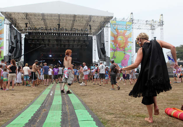 The 18th annual Gathering of the Vibes Musical Festival at Seaside Park in Bridgeport, Conn. on Sunday, July 28, 2013. Photo: BK Angeletti, B.K. Angeletti / Connecticut Post freelance B.K. Angeletti