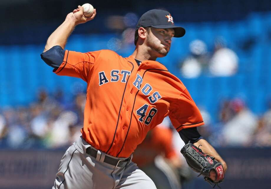 July 28: Blue Jays 2, Astros 1 Despite the loss, Astros pitcher Jarred Cosart was effective in his third start. Photo: Tom Szczerbowski, Getty Images