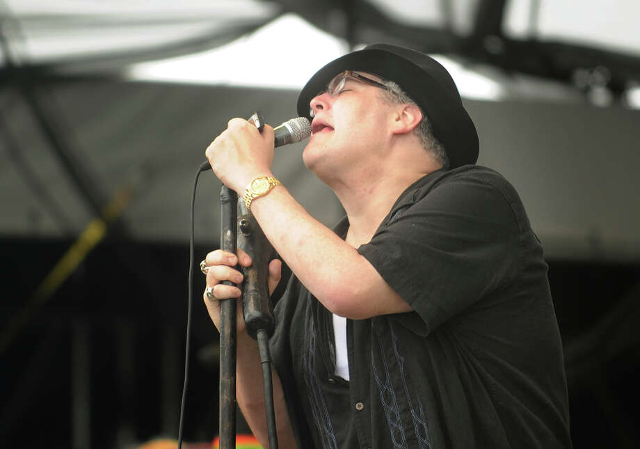 John Popper performs with his band, Blues Traveller, at the 18th annual Gathering of the Vibes Musical Festival at Seaside Park in Bridgeport, Conn. on Sunday, July 28, 2013. Photo: Brian A. Pounds / Connecticut Post freelance