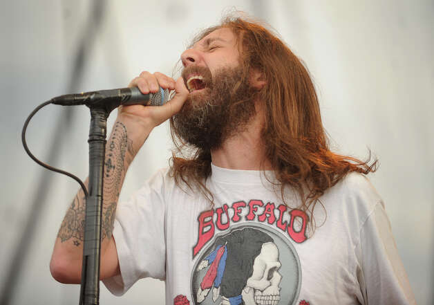 Chris Robinson performs with his band, The Black Crowes, at the 18th annual Gathering of the Vibes Musical Festival at Seaside Park in Bridgeport, Conn. on Sunday, July 28, 2013. Photo: Brian A. Pounds / Connecticut Post freelance