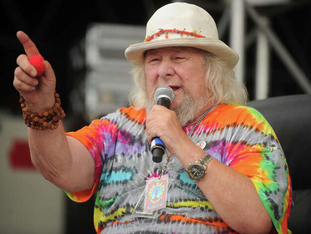 Master of Ceremonies Wavy Gravy at he 18th annual Gathering of the Vibes Musical Festival at Seaside Park in Bridgeport, Conn. on Sunday, July 28, 2013. Photo: Brian A. Pounds / Connecticut Post freelance