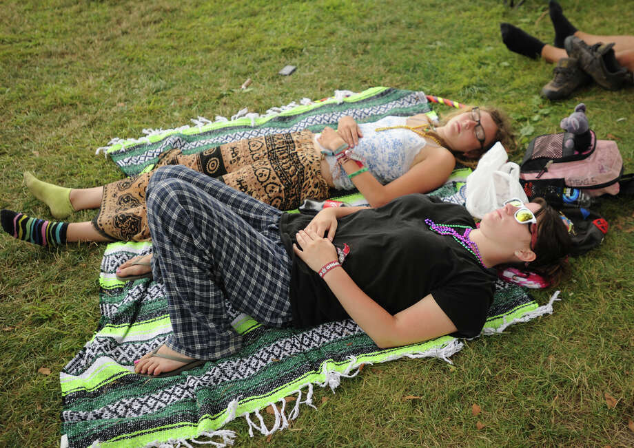 The 18th annual Gathering of the Vibes Musical Festival at Seaside Park in Bridgeport, Conn. on Sunday, July 28, 2013. Photo: Brian A. Pounds / Connecticut Post freelance