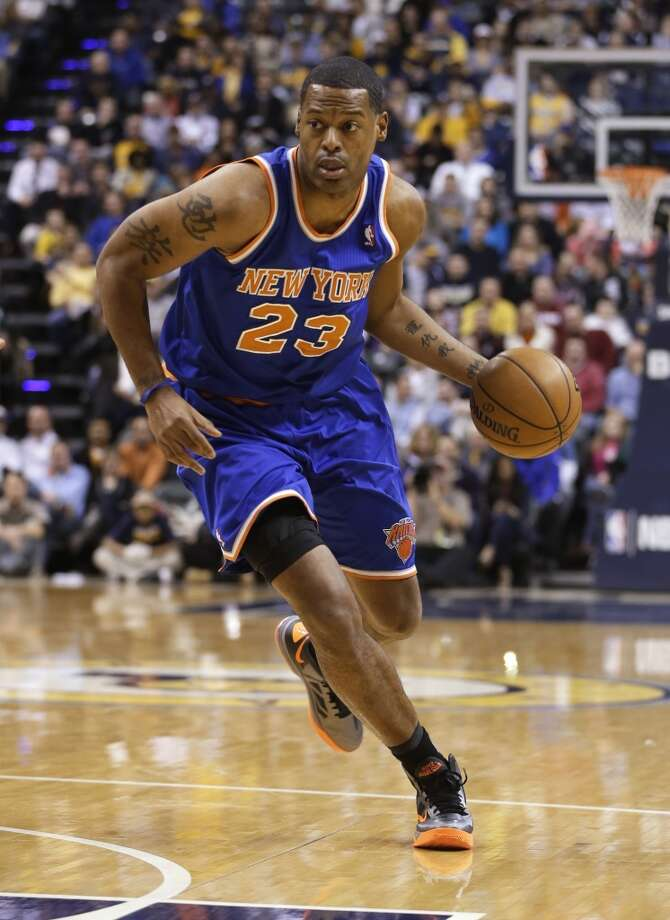 Marcus Camby  Former team: New York Knicks  New team: Rockets Photo: Darron Cumminbs, Associated Press