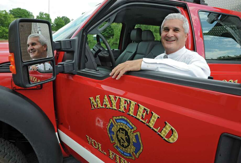 Fulton County Judge Richard Giardino at the Mayfield firehouse where he is a volunteer firefighter on Friday, June 14, 2013 in Mayfield, N.Y. (Lori Van Buren / Times Union) Photo: Lori Van Buren / 10022811A