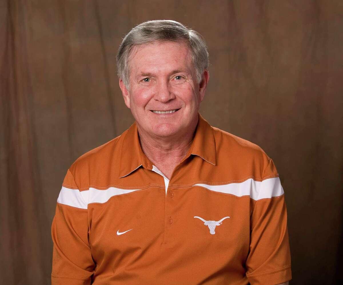 Mack Brown Head football coach at the University of Texas 2012 school photo