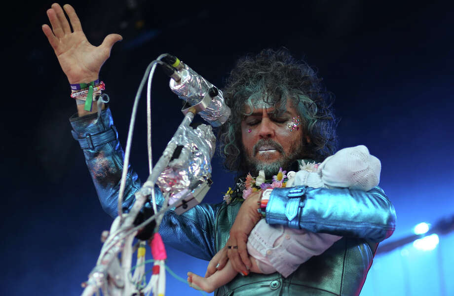 Wayne Coyne performs with The Flaming Lips during the annual Capitol Hill Block Party on Sunday, July 28, 2013 in Seattle. The three day music festival wrapped up on Sunday. Photo: JOSHUA TRUJILLO, SEATTLEPI.COM / SEATTLEPI.COM
