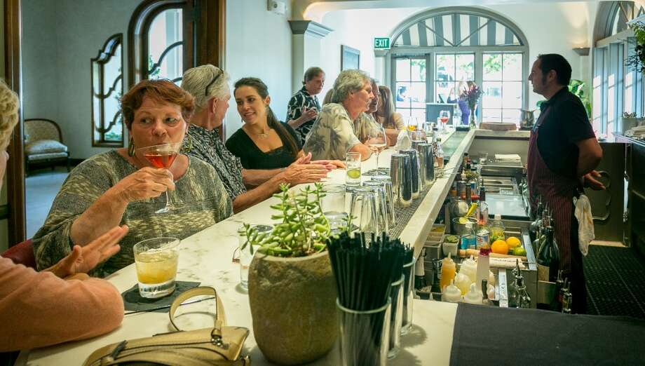 The bar at Chalkboard in Healdsburg, Calif., is seen on Friday, July 19th, 2013. Photo: Special To The Chronicle