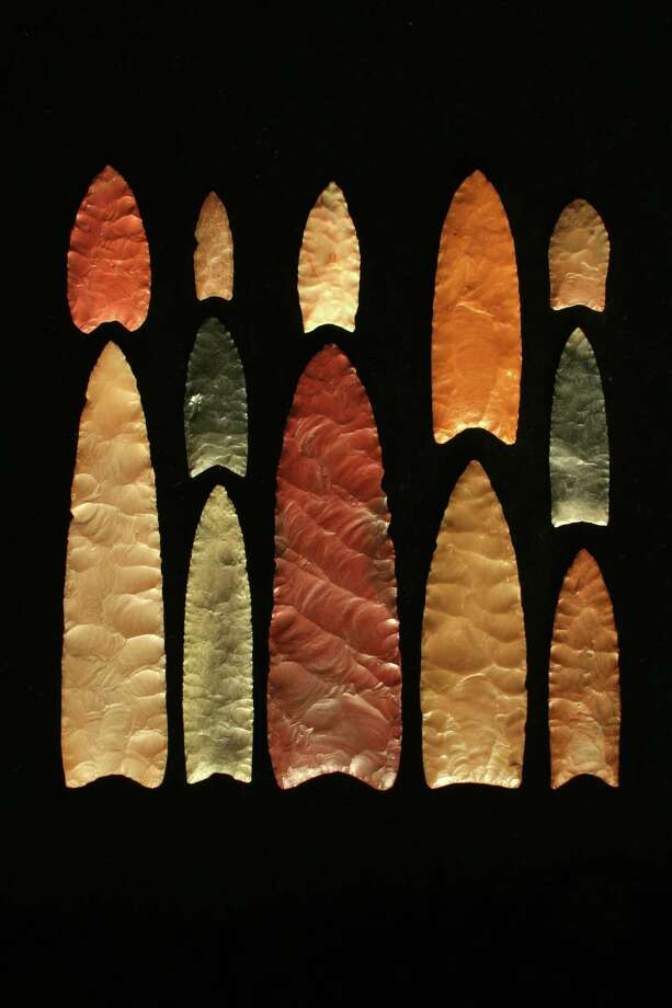 Clovis Points are named for Clovis, New Mexico where they were first discovered. These projectiles are date back between 13,000 and 12,700 years ago, said Dr. Michael Waters of Texas A&M University's Center for the Study of the First Americans. Photo: None