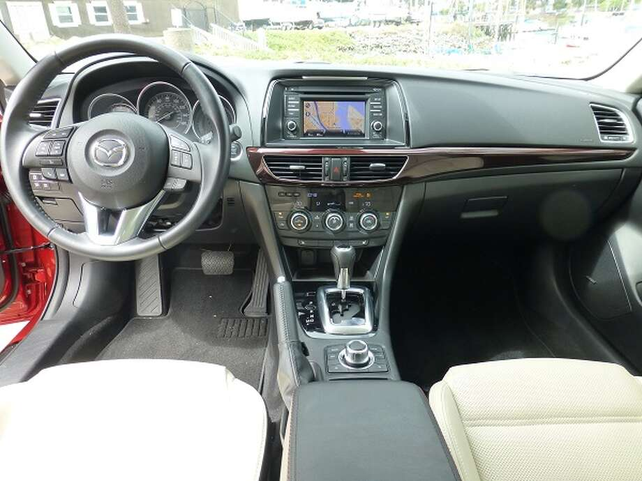 Inside, Mazda has done up a serviceable, if not outright luxurious interior, with all the instruments clear and readable in their normal places. The navigation system is provided by TomTom.