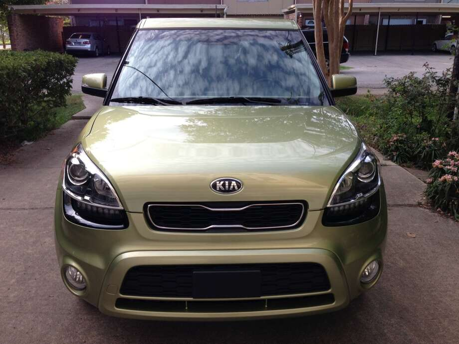 "Kia refers to the Soul's front as the ""Tiger Nose"". Photo: Dwight Silverman, Houston Chronicle"
