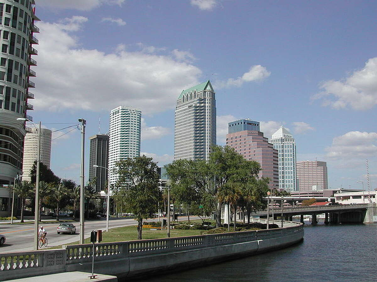 10) Tampa, Florida