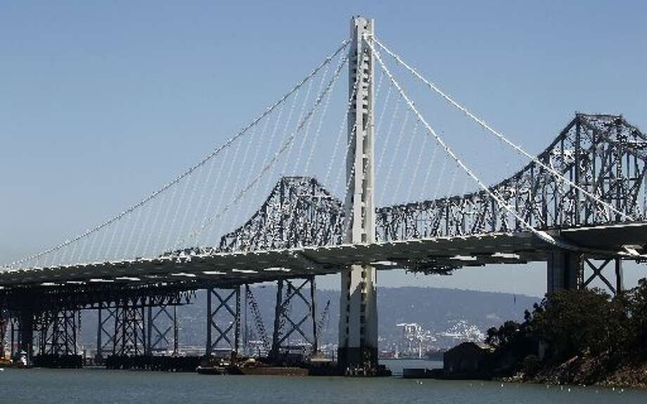 The new east Bay Bridge span opened on Sept. 2nd, 2013. Photo: Paul Chinn, The Chronicle