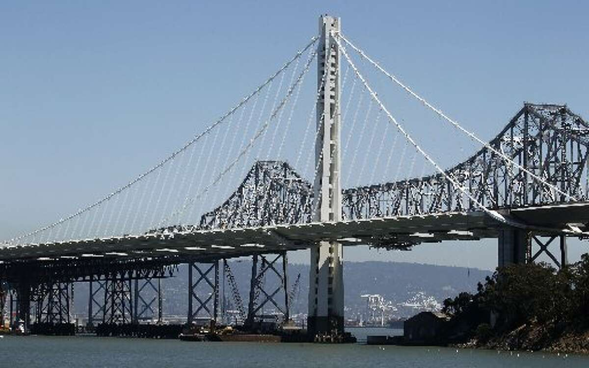 The new east Bay Bridge span opened on Sept. 2nd, 2013.