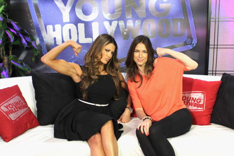 Eve Torres (left) Photo: Young Hollywood, Getty Images / 2012 Young Hollywood