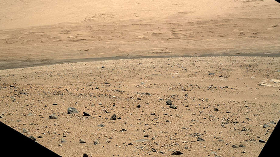 If you look closely, you might see a face on Mars. (NASA photo)
