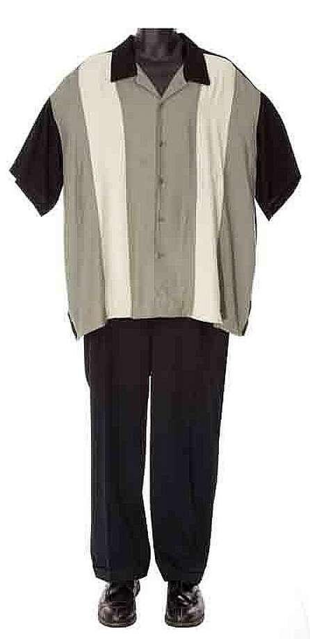 "Lot 367: James Gandolfini's screen-worn ""Tony Soprano"" costume – $22,000:"