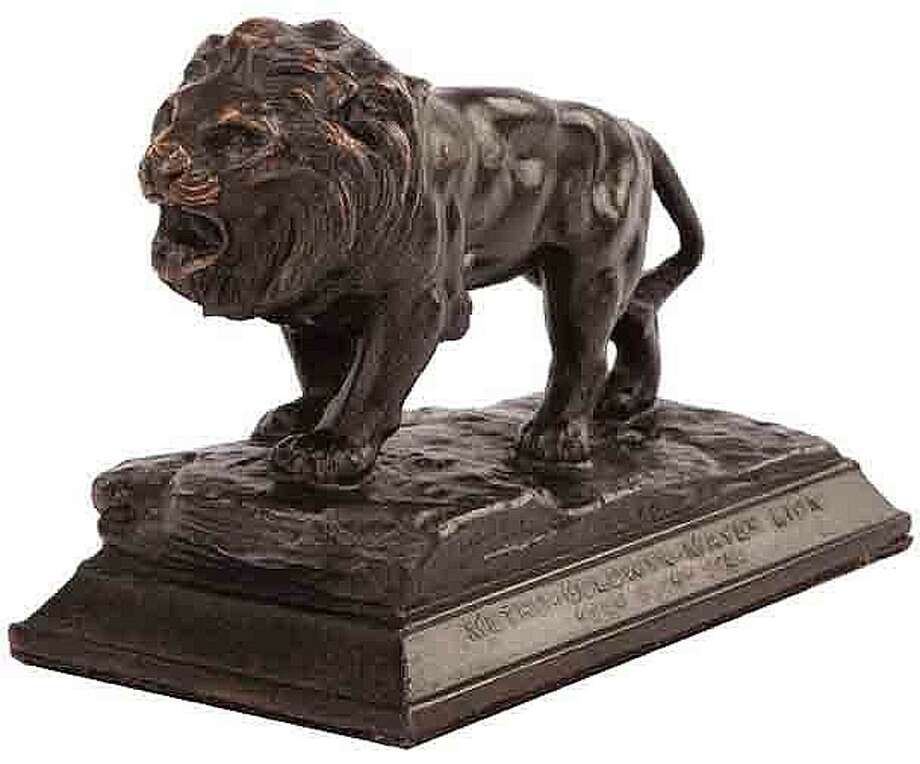 Lot 401: Vintage MGM studio paperweight and pencil sharpener – $5,000