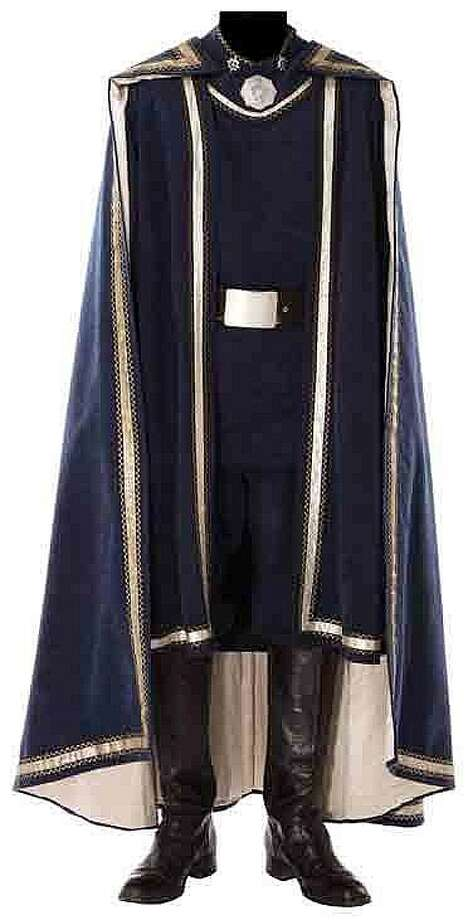 "Lot 360: Lorne Greene ""Adama"" complete hero Battlestar Galactica costume – $25,000"