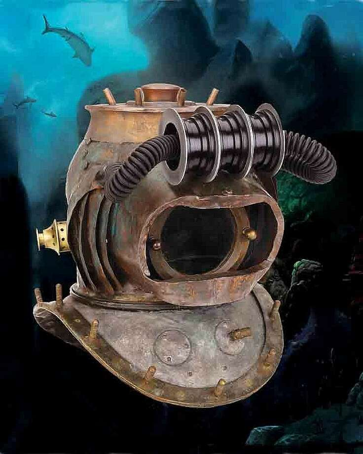 "Lot 538: Hero ""Nautilus"" crewman dive helmet from 20,000 Leagues Under the Sea – $75,000"