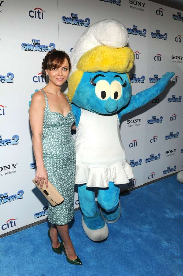 "Christina Ricci attends ""The Smurfs 2"" New York Blue Carpet Screening at Lighthouse International Theater on July 28, 2013 in New York City.  (Photo by Craig Barritt/Getty Images) Photo: Craig Barritt, Getty Images"