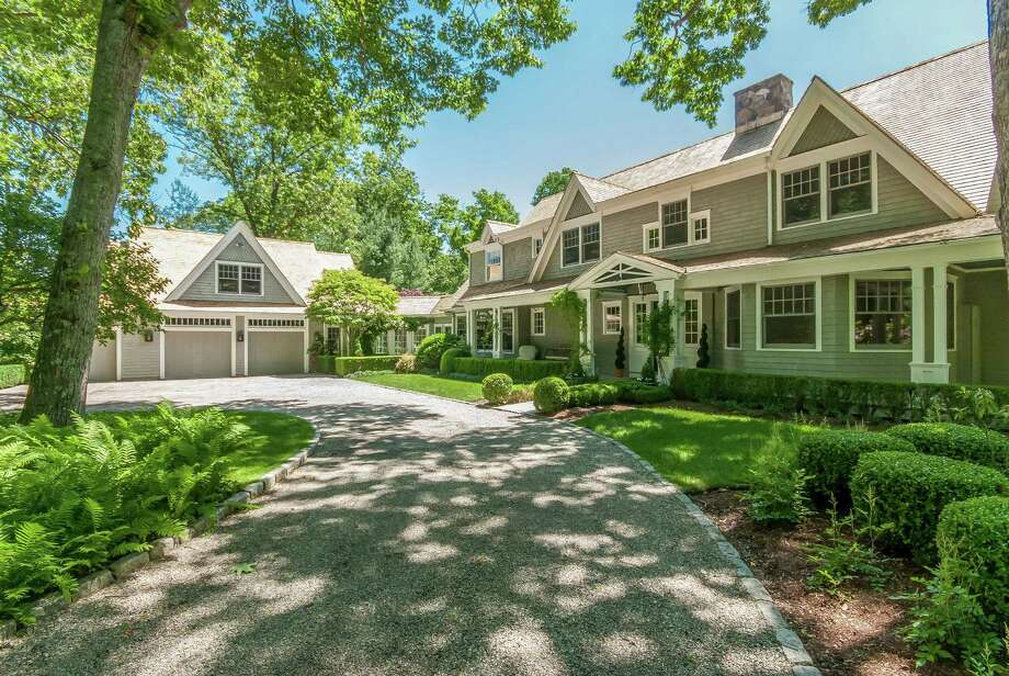 The house at 8 Wedges Field in Weston is on the market for $2.995 million. Photo: Contributed Photo / Westport News contributed