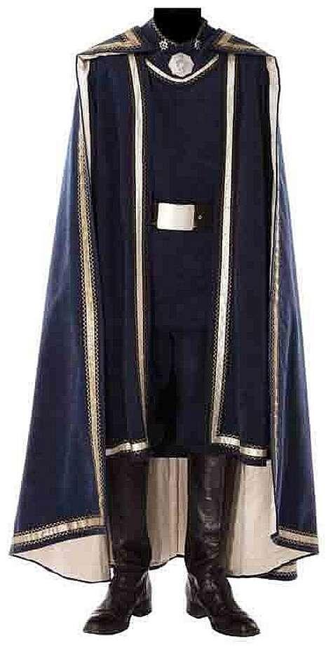 "Lot 360: Lorne Greene ""Adama"" complete hero Battlestar Galactica costume – $25,000"